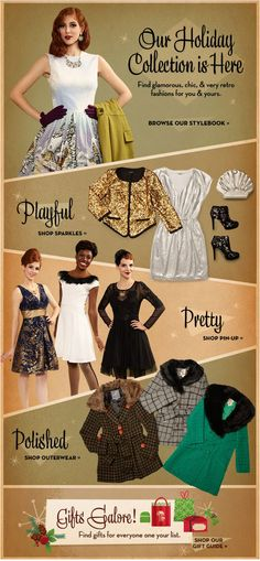 ModCloth Newsletter | The House of Beccaria~