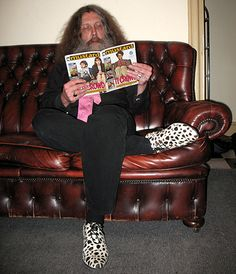 Alan Moore reads.
