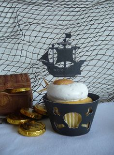 NEW Pirate Cupcake Toppers