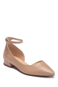 852dfbc30f0 Franco Sarto - Slide Leather d Orsay Flat is now 55% off. Free. Nordstrom  Rack