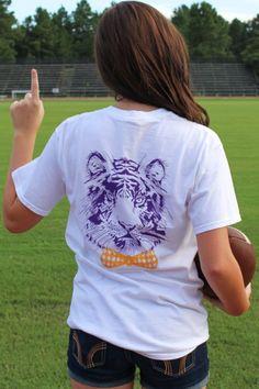 LSU Tiger Bowtie Tshirt