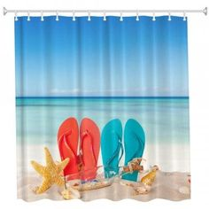 Free shipping 2018 Couple Beach Shoes Polyester Shower Curtain Bathroom Curtain High Definition 3D Printing Water-Proof COLORMIX W INCH L INCH under $15.58 in Shower Curtains online store. Best Pink Shower Curtain and Wall Curtain for sale at Dresslily.com.