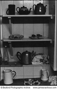 Whist Drive refreshments, Beaford, Devon, England, 1973 - copyright estate of James Ravilious Devon England, Vintage Photos, Guitar Chord, Tea, Norfolk, Farmers, Gypsy, Photographs, English