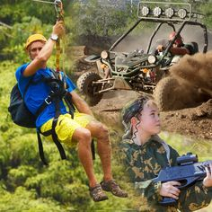 Coral Crater Adventure Park – Thrills and Family Fun in Oahu, Hawaii Oahu Hawaii, Hawaii Travel, Coral, Island, Adventure, Park, Fun, Islands, Parks