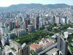 Belo Horizonte, Minas Gerais, Brasil. Minha cidade.