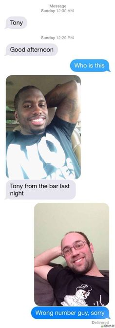 Funny Text Replies to People with the Wrong Number