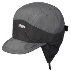 The Rab VR Mountain Cap is a lightweight Pertex cap with a micro fleece lining. It's wind and weather resistant and is perfect for use on snowy days or in light rain showers. The wired peak helps to keep rain and snow out of your eyes, giving you a better field of vision.