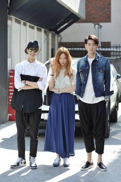 harajukukingeu:  김필수,이성경,조민호 (Model)Street Style , Korea Seoul 2014 may 3