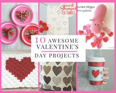 Sewing With Love: 10 Awesome Valentine's Day Projects To Make