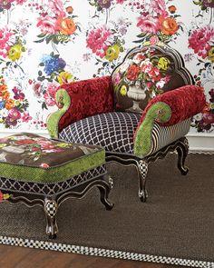 MacKenzie-Childs Botanica Chair