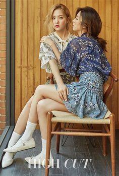 Yeri & Seulgi (Red Velvet) - High Cut Magazine vol. Kpop Girl Groups, Korean Girl Groups, Kpop Girls, Red Velvet Joy, Red Velvet Seulgi, Red Velvet Photoshoot, Park Sooyoung, Style Outfits, High Cut