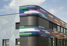 Trespa panels exterior panels ideas building facade cladding
