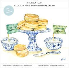 Afternoon Tea 101: Clotted Cream and DevonshireCream