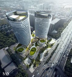 SAN Architectural Visualization on Behance