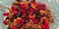 Recept på nyttig granola müsli   Sporthälsa