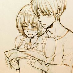 Ereri, Eren X Armin, Attack On Titan Ships, Attack On Titan Levi, Otp, Aot Funny, Nose Bleeds, Elsword, Cute Anime Boy
