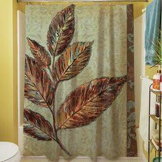 Found It At Wayfair   Golden Leaf I Shower Curtain
