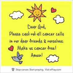 Dear God, .....