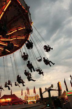 At the fair!