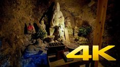 Monjusen-Ji Temple - Oita - 峨眉山 文殊仙寺 - 4K Ultra HD