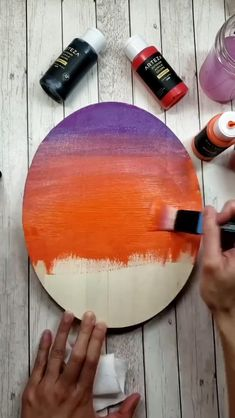 Need acrylic painting ideas? Try changing the time of day that you paint a landscape can drastically change the look and feel of it. By painting this lakeside scene at sunset what normally would be in Landscape Painting Tutorial, Art Painting, Rock Painting Designs, Outdoor Acrylic Paint, Acrylic Art, Amazing Art Painting, Art Painting Acrylic, Creative Painting, Canvas Painting Tutorials