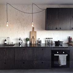 Choosing Your New Kitchen Countertops Barn Kitchen, Loft Kitchen, Kitchen Interior, New Kitchen, Room Interior, Interior Design Living Room, Kitchen Dining, Kitchen Decor, Plywood Kitchen