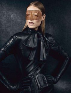 """New Noir"" Suvi Koponen by Craig McDean. for Vogue UK #editorial"