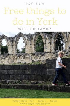 Top ten free things to do in York East Coast Family Vacations, Best Family Vacation Destinations, All Inclusive Family Resorts, Vacation Ideas, Road Trip With Kids, Travel With Kids, Family Travel, Road Trip Europe, Travel Europe