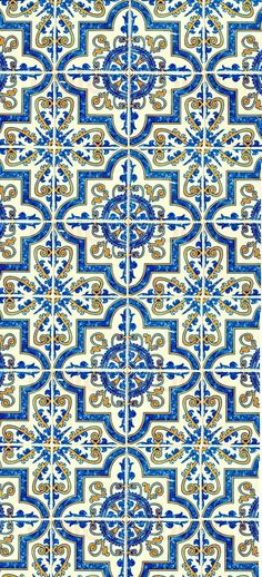Tile Patterns, Textures Patterns, Print Patterns, Bd Pop Art, Tile Design, Design Art, Art Asiatique, Vintage Tile, Art Deco