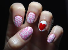 V.day mix over Pink Friday from OPI
