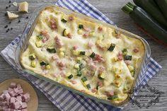Lasagne+zucchine+e+prosciutto