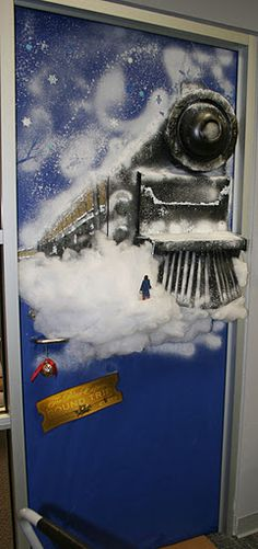 2010 LEC door decorating contest - Bonnie's Polar Express