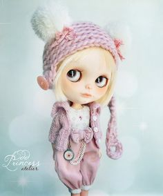 Blythe Ooak Set CANDY BEAR By Odd Princess Atelier, Victorian, Special Occasion Outfit