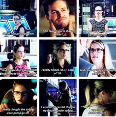 You just gotta love Felicity Smoak ♥ #Arrow