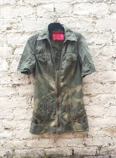 Safari style dress uk size