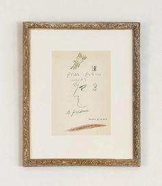 Alekos Fassianos 1985 – hellethygesen.com Antique Frames, The Dreamers, The Originals, Antiques, Drawings, Paper, Interior, Art, Antiquities