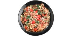 Miracle-Noodle-Fettuccine-with-Mushrooms-Cherry-Tomatoes-and-Watercress, omit the cheese on the fast
