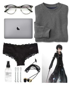 """!!Otaku!!"" by diviinity ❤ liked on Polyvore featuring Calvin Klein, Kirito and Forever 21"