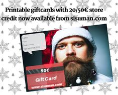 We got you covered with a instant Christmas gift that you can buy right before and receive it per email instantly. Perfect last minute gift for men? With the gift card you can buy beard care, hats, lighters, combs, money clips and other male essentials! Last Minute Christmas Gifts, Last Minute Gifts, Cigar Accessories, Money Clips, Beard Care, Bearded Men, Essentials, Hats, Products