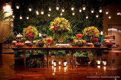 Decoração Rústico Chique | Vestida de Noiva | Blog de Casamento por Fernanda Floret