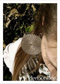 kraft paper earring