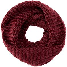 TOMS Infinity Scarf (66 CAD) ❤ liked on Polyvore featuring accessories, scarves, burgundy, loop scarves, tube scarf, round scarf, tube scarves and circle scarf