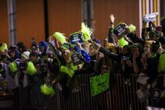 Congratulations to our client the Seahawks on winning Super Bowl XLVIII!!! A severe snow storm made for a extended start and travel for the Super Bowl Champion Seahawks, but the arrival at home in Seattle is always sweet thanks to the 12s! Photos - #SB48 Homecoming