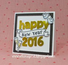 Sparkling New Year Card by Elise
