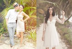 Bohemian Wedding Dress Looks | B-Inspired | BHLDN