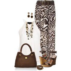 """""""Zebra Print Maxi Skirt"""""""
