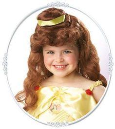 Lasten Kaunotar peruukki. #naamiaismaailma