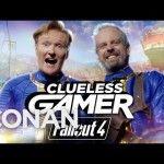 Clueless Gamer: Conan O'Brien testet Fallout 4