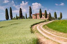 :) Tuscan Villa: near Pienza, Italy
