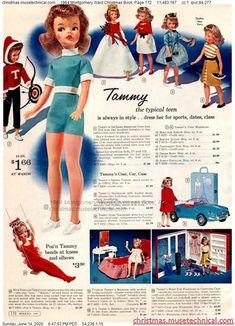 Christmas Catalogs, Christmas Books, Vintage Christmas, Barbie Dolls For Sale, Barbie And Ken, Childhood Toys, Childhood Memories, Vintage Barbie, Vintage Dolls
